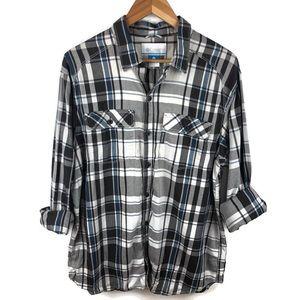 Columbia Shirts - Columbia plaid button up shirt